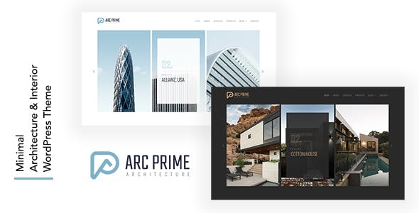 Arc Prime - Architecture WordPress Theme