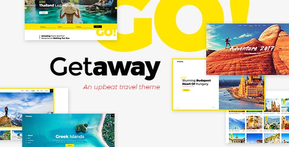 Getaway - Travel & Tourism Theme