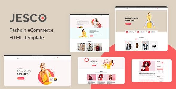 Jesco - Fashion eCommerce HTML Template - Fashion Retail
