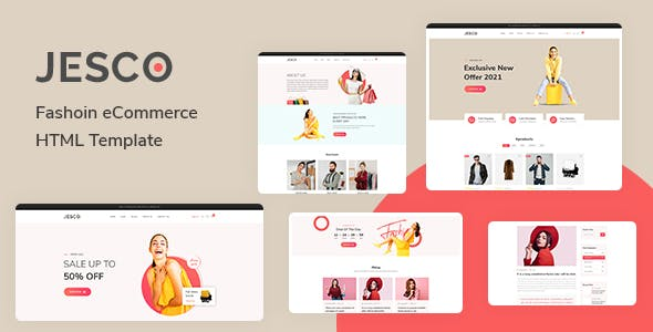 Jesco - Fashion eCommerce HTML Template