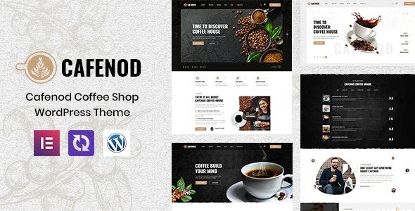Cafenod - Coffee Shop WordPress Theme - Restaurants & Cafes Entertainment