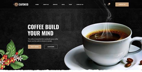 Cafenod - Coffee Shop WordPress Theme