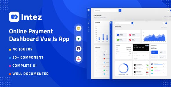 Intez - Payment Dashboard Vue App