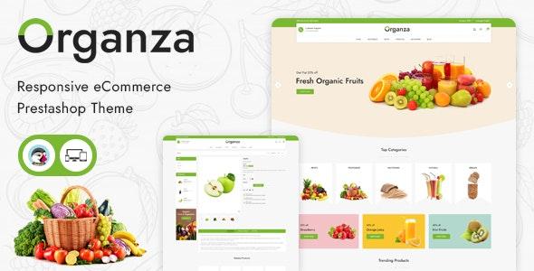 Organza - Responsive Prestashop Theme - PrestaShop eCommerce