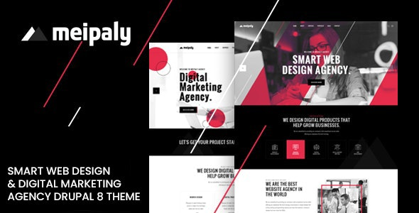 Meipaly - Digital Services Agency Drupal 9 Theme - Business Corporate