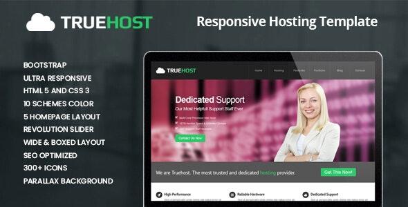 Truehost - Responsive HTML5 Hosting Template - Hosting Technology
