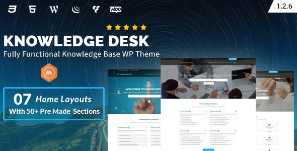 Knowledgedesk - Knowledge Base WordPress Theme