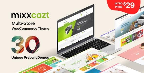 Mixxcazt - Creative Multipurpose WooCommerce Theme - WooCommerce eCommerce