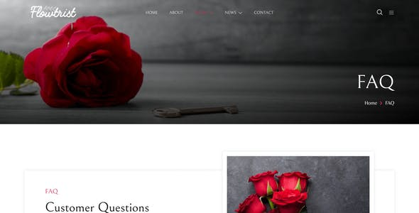 Flowtrist – Flower Boutique & Florist Elementor Template Kit