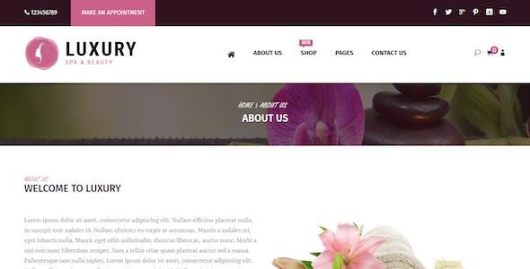 Luxury Spa Beauty OpenCart Theme