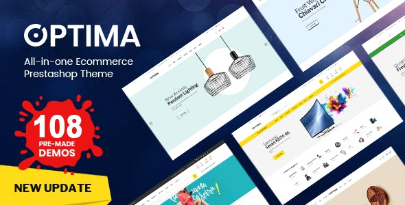 Optima - Multipurpose  Responsive Prestashop 1.7 Theme