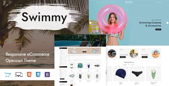 Swimmy - Responsive OpenCart Theme - OpenCart eCommerce