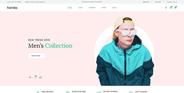 Famita - Minimalist Shopify Theme