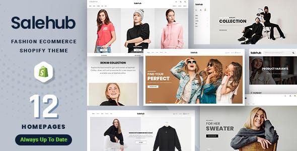 SaleHub - Clothing and Fashion Shopify Theme