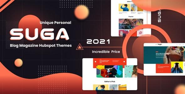 Suga - Blog and Magazine Hubspot Theme - Blog / Magazine HubSpot CMS