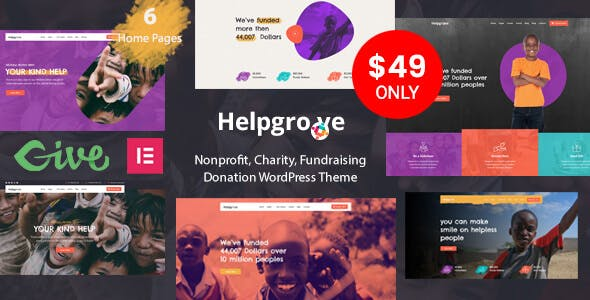Helpgrove - Nonprofit Charity