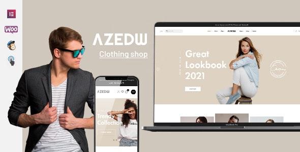 Azedw - Clothing Shop WordPress Theme - WooCommerce eCommerce
