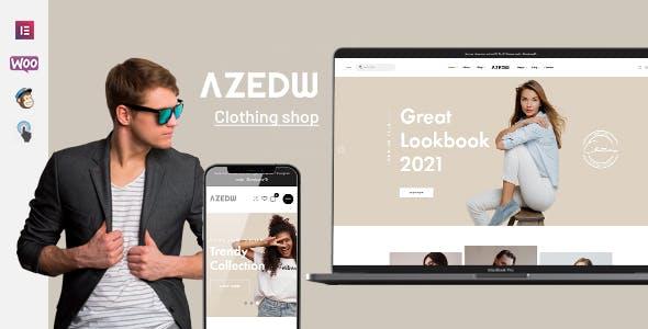 Azedw - Clothing Shop WordPress Theme