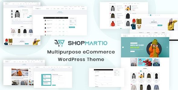 Shopmartio – Multipurpose eCommerce WordPress Theme - WordPress