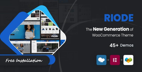 Riode v1.2.2 – Multi-Purpose WooCommerce Theme