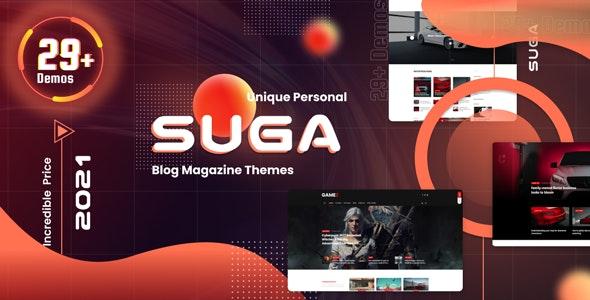 Suga - Ecommerce Magazine WordPress Theme - News / Editorial Blog / Magazine