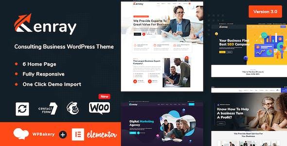 Kenray – Consulting Business WordPress Theme