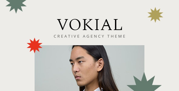 Vokial - Creative Agency Theme - Portfolio Creative