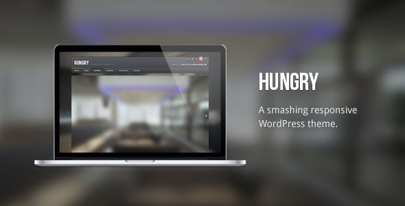 Hungry: Responsive / Handsome WordPress Theme - Business Corporate