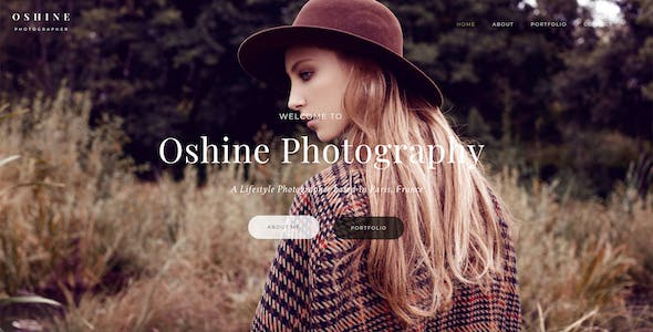 Oshine - Multipurpose Creative WordPress Theme