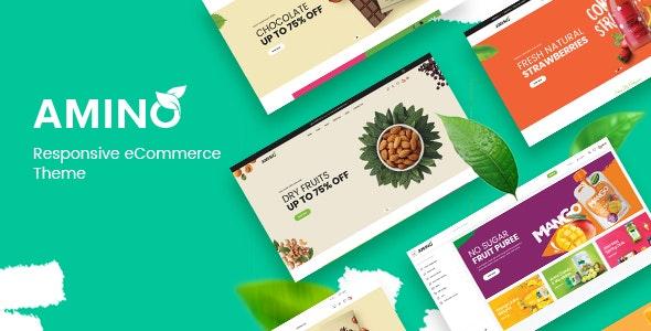 Amino - Organic & Multipurpose OpenCart Theme - Health & Beauty OpenCart
