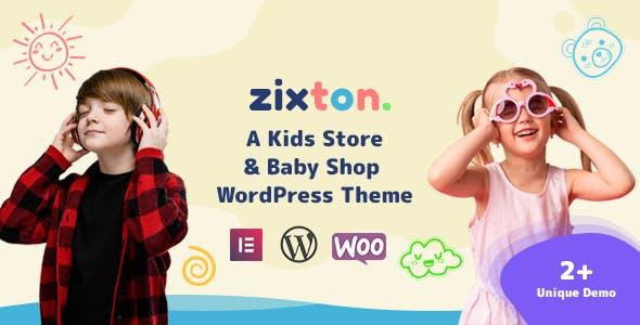 Zixton  - Baby Fashion WooCommerce Theme