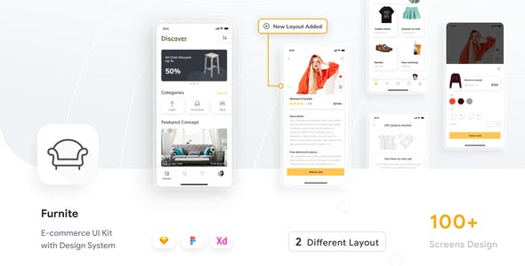 Furnite - Furniture E-commerce UI KIT
