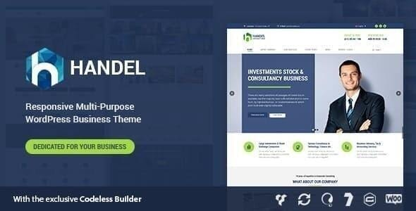 Handel - Consulting WordPress - Business Corporate