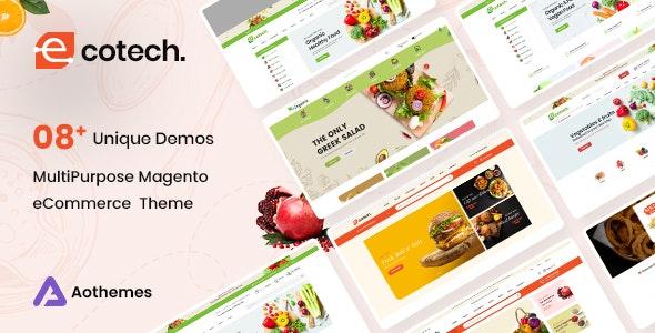 Ecotech Fresh Food Magento 2 Theme - Shopping Magento
