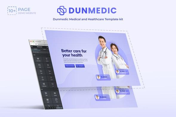 Dunmedic - Medical & Healthcare Elementor Template Kit - Health & Medical Elementor
