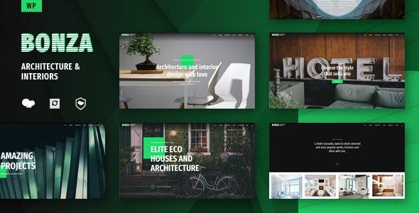 Bonza Architecture & Interior WordPress Theme - Portfolio Creative
