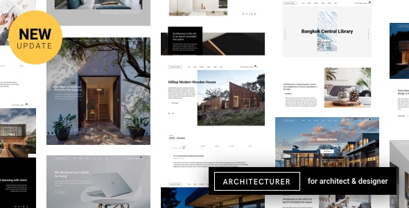 Architecturer WordPress for Interior Designer - Portfolio Creative