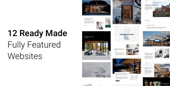Architecturer WordPress for Interior Designer