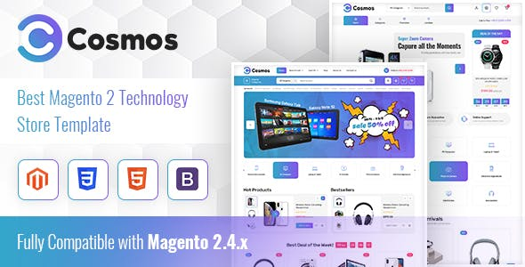 Cosmos - Hitech Store Magento 2 Theme