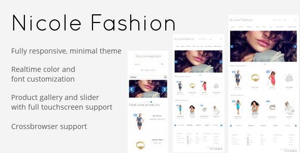 Nicole Fashion - Fashion OpenCart