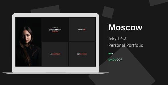 Moscow - Personal Portfolio Jekyll Template