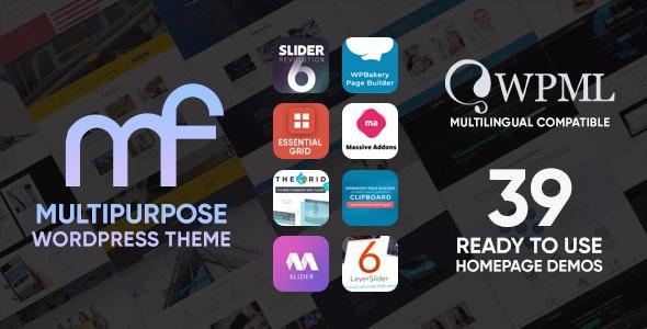 MF - Multipurpose WordPress Theme - Business Corporate