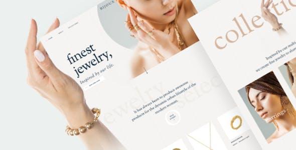 Bijoux - Handmade Crafts Jewelry WooCommerce Shop