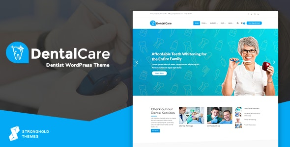 Dental Care - Dentist & Medical WordPress Theme - Health & Beauty Retail