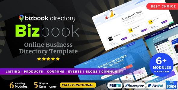 BizBook - Directory & Listing - Corporate Site Templates