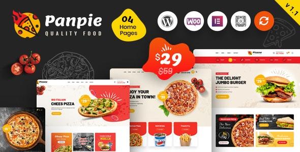 Panpie - Restaurant WordPress Theme - Food Retail