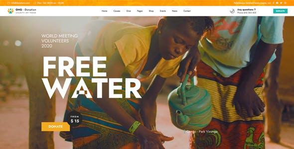 Ngo - Charity & Donation WordPress
