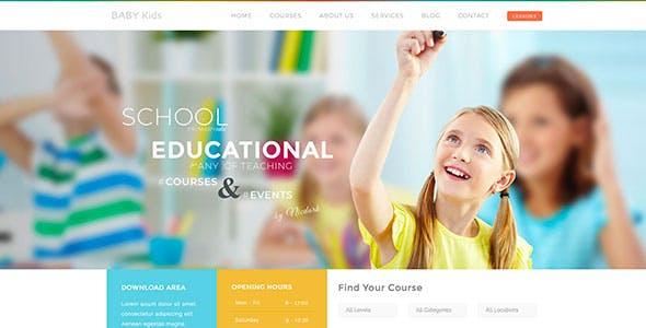 Baby Kids - Education Primary School Children