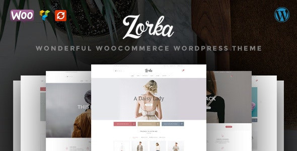 ZORKA – Wonderful Fashion WooCommerce Theme - WooCommerce eCommerce