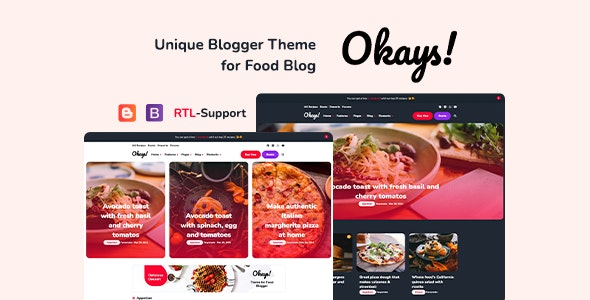 Okays! - Blogger Personal Theme Responsive - Blogger Blogging